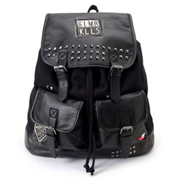 bag black studs