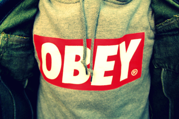 hoodie sweater obey