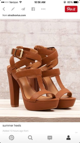 shoes thick heel