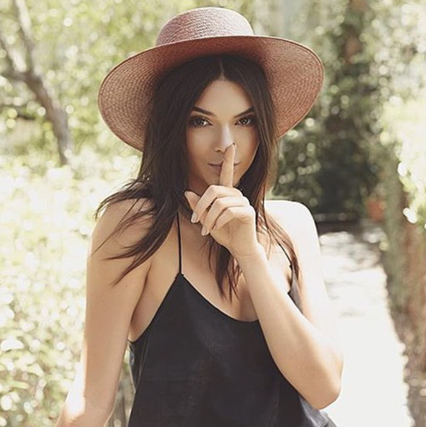 Silk Draped Tank by Kendall   Kylie