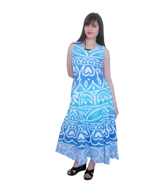 dress, light blue long gown, maxi dress, womens summer gowns, trendy ...