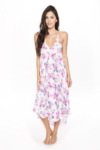 dress cover up floral frankies frankies bikini