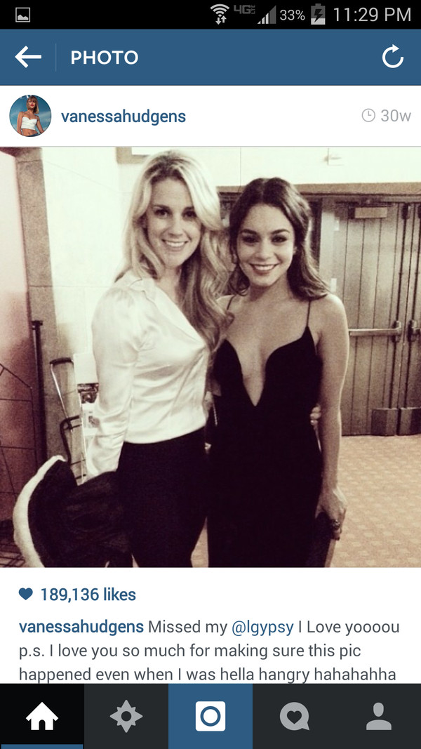 black dress vanessa hudgens lowcut dress
