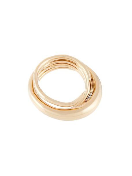 Charlotte Chesnais metallic women ring jewels