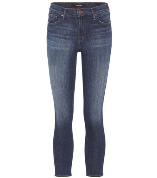 J BRAND jeans cropped jeans cropped blue