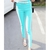 Candy Color Elastic Slim High Waistt Leggings on Luulla