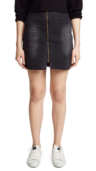 skirt high anchor black