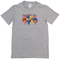 Lazy colorful bear t-shirt - basic tees shop