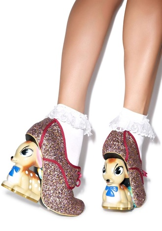 shoes bambi heels sparkly dress cute shoes wedges top style