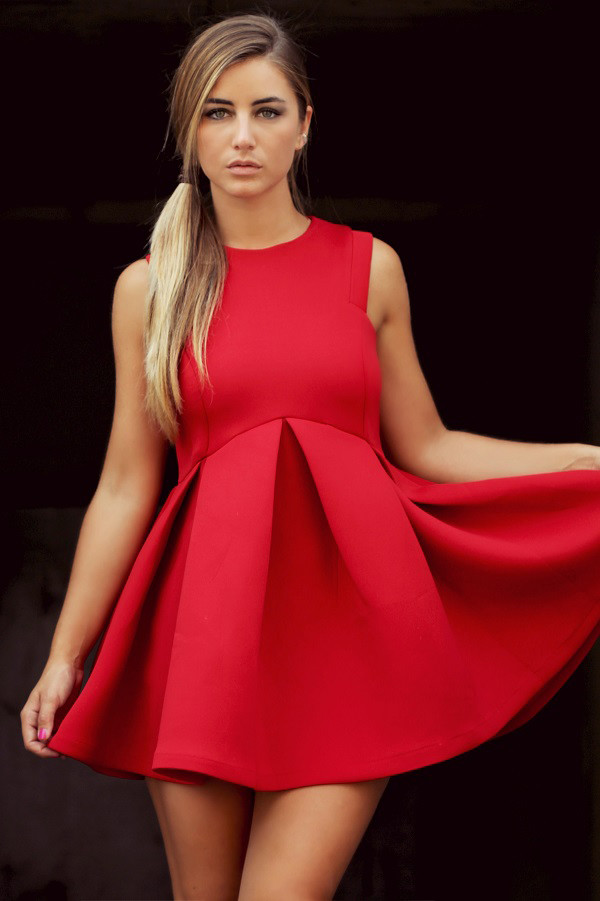 skater dress dress streetstyle stylemoi elegant dress revenge
