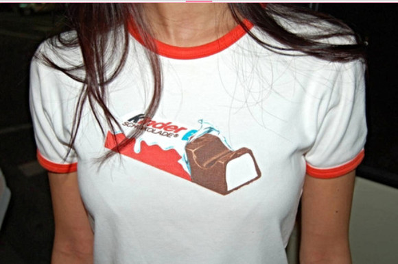 t-shirt cool tumblr kinder chocolate