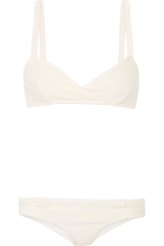 bikini cotton cream swimwear