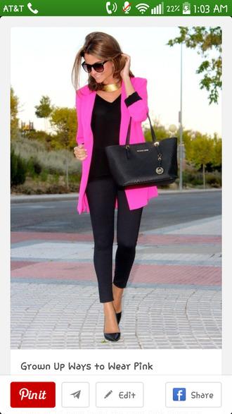 cardigan jacket bright barbie neon