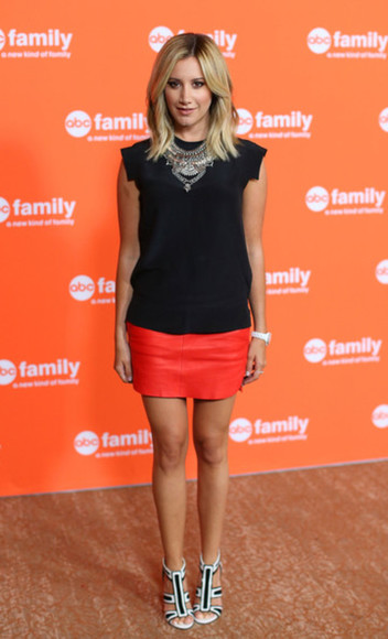 shoes ashley tisdale top jewels skirt necklace