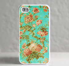 aqua floral from projectmajor | eBay