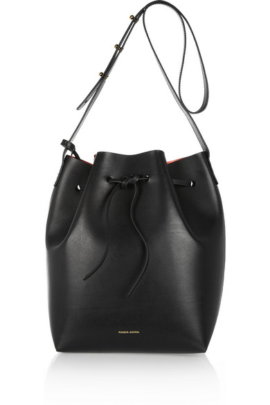 Mansur Gavriel | Leather bucket bag  | NET-A-PORTER.COM
