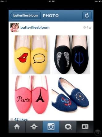 shoes flat ballet flats
