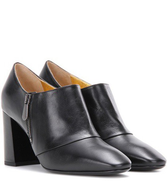 Bottega Veneta leather ankle boots boots ankle boots leather black shoes