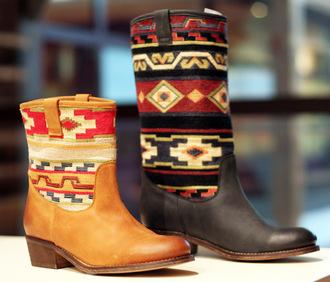 boots cowboy boots vintage boots shoes