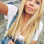 shirt,alli simpson,jeans,white,crop tops,t-shirt,overalls