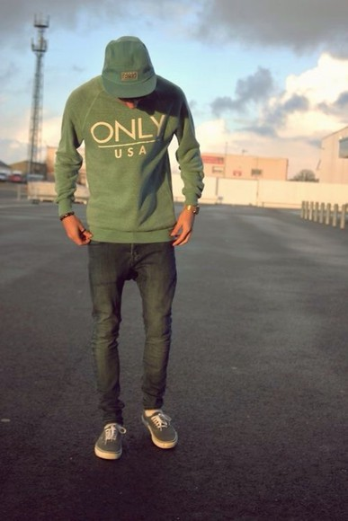 green only usa skate streetwear
