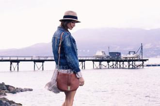 styling my life blogger jacket dress bag hat shoes