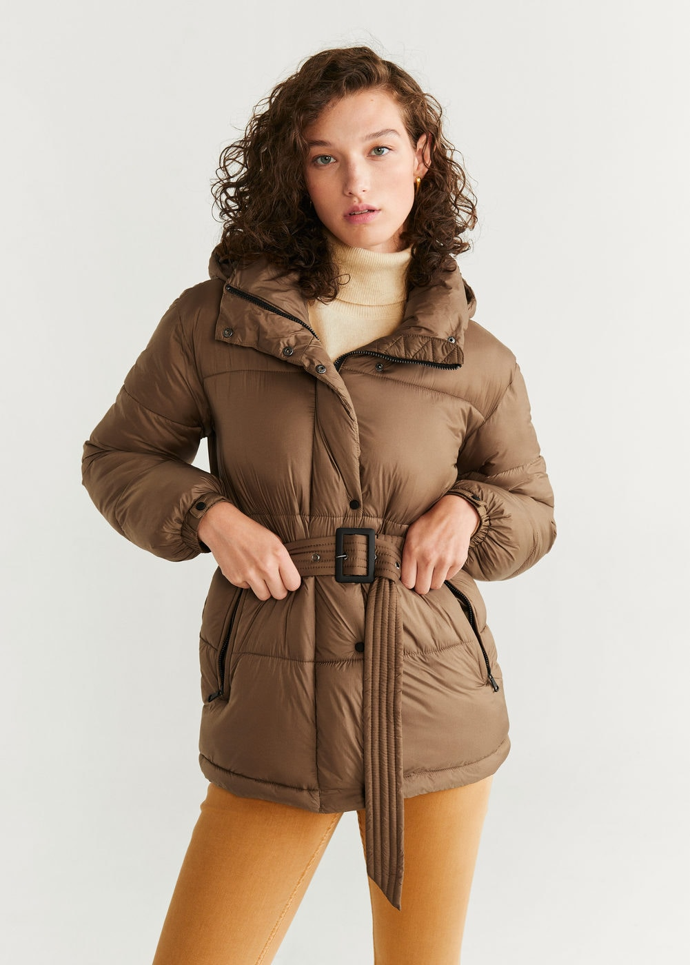 Belted coat - Women | Mango USA