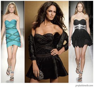 dress studded dress little black dress criss cross bustier dress buttons