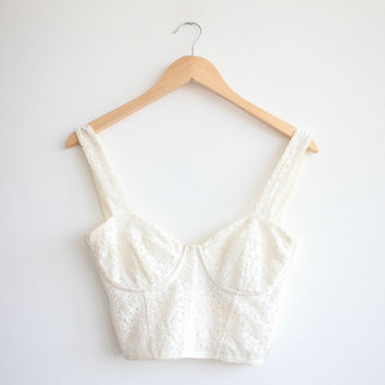 Topshop Lace Bralette — Bib   Tuck on Wanelo