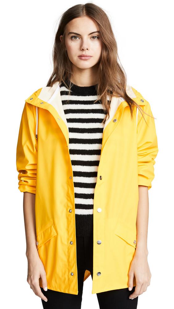 Rains Rain Jacket in yellow