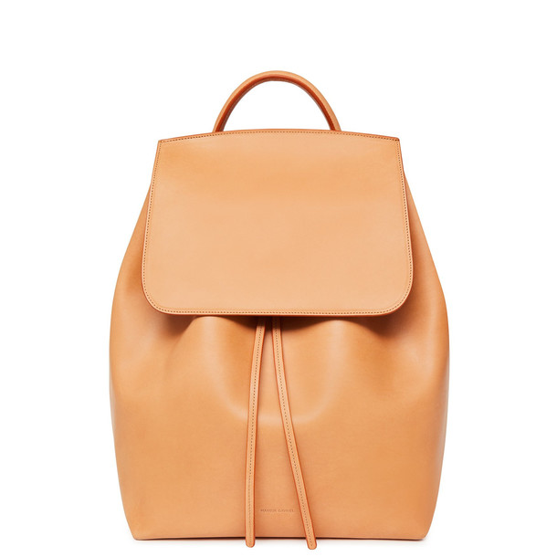 Mansur Gavriel Cammello Men's Backpack - Raw