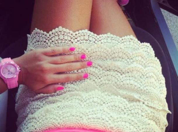 skirt icewatch clothes nail polish