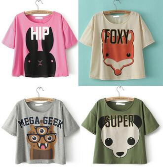 t-shirt kawaii pastel goth printed t-shirt