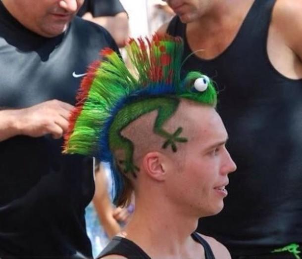 hairstyles grunge menswear hair accessory