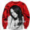2014 new fashion women /men tops sweatshirts  aaliyah rose ladies 3d print  long sleeve  thin hoodies-in hoodies & sweatshirts from apparel & accessories on aliexpress.com