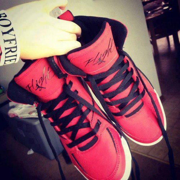 shoes flight pink black fashion shoes high top sneakers high top sneakers