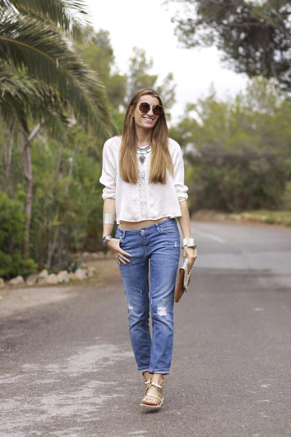 b a r t a b a c top jeans shoes bag jewels sunglasses