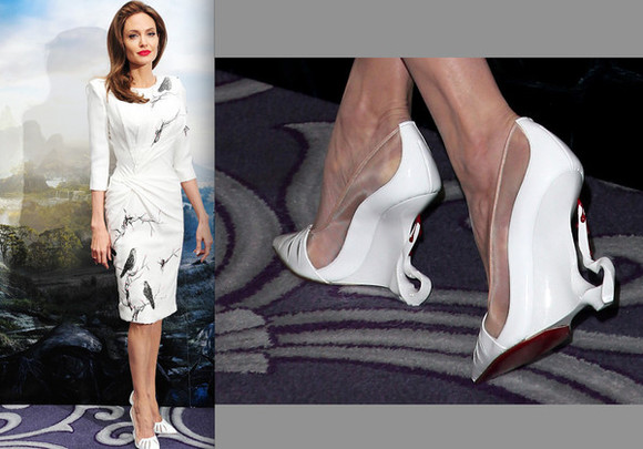 angelina jolie shoes