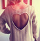 Piece of my heart cut out sweater · nouveau craze · online store powered by storenvy