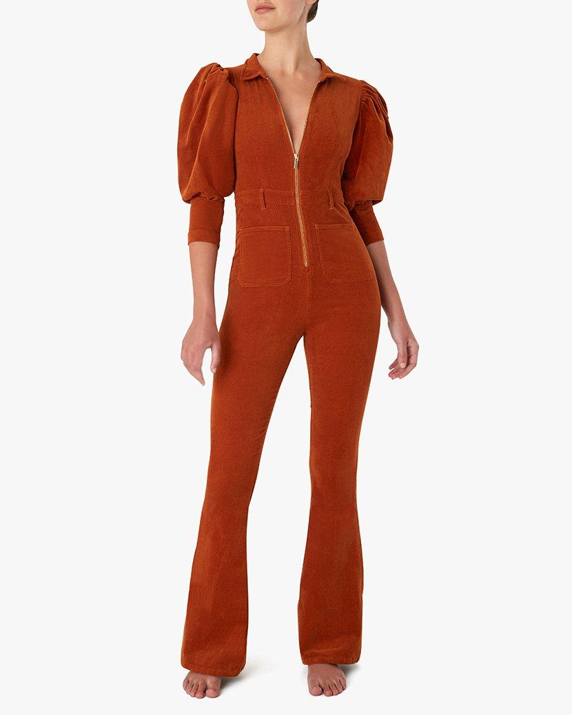 70s Corduroy Jumpsuit