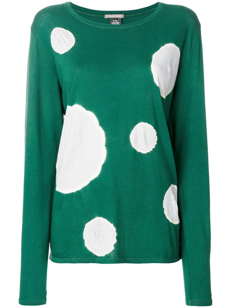 t-shirt shirt t-shirt women cotton green top