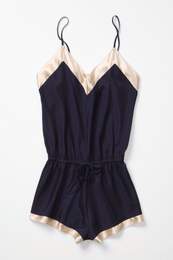shorts lingerie dress romper silk blue gold spagetti straps shirt pajamas navy sleep white blouse pants jumpsuit romper backandgold pink black jumpsuit black romper