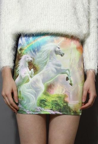 skirt dope kawaii unicorn style