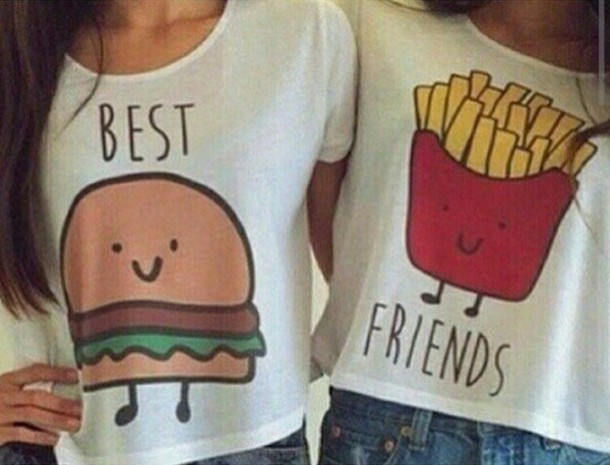 shirt best friend shirts bff shirts wheretoget. Black Bedroom Furniture Sets. Home Design Ideas