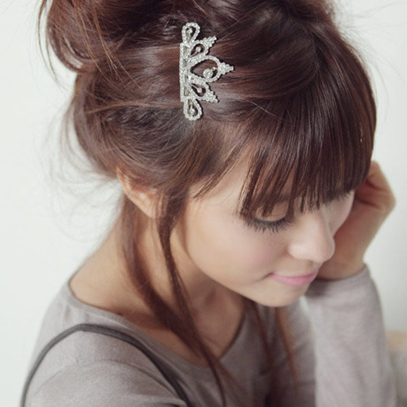 grey jewels hair accessory crown