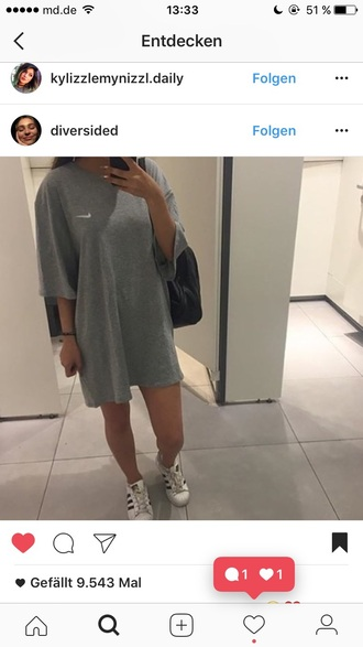 shirt nike grey t-shirt