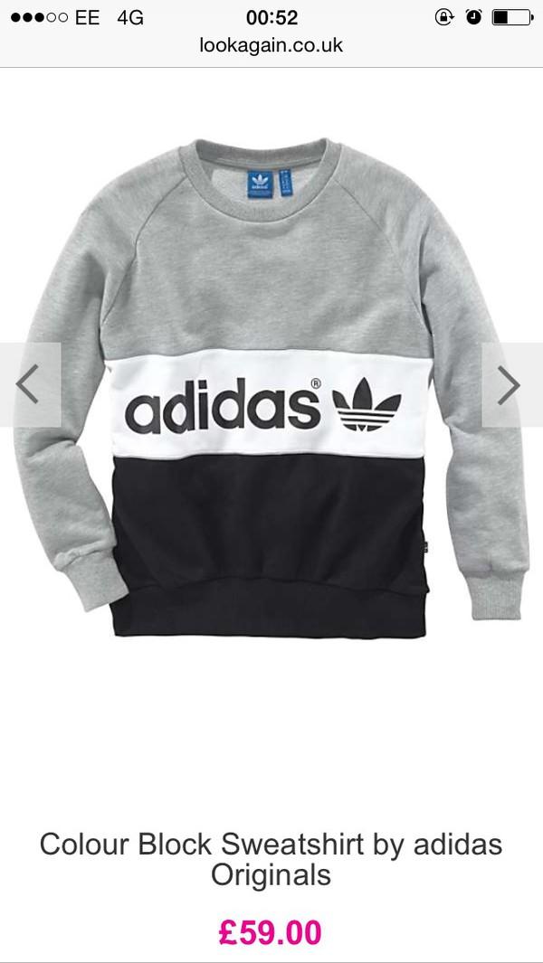 pretty nice a5cad 012c2 ... adidas city w sweater