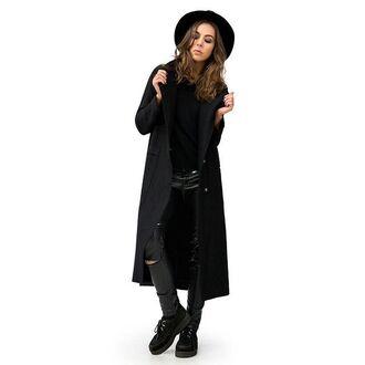 coat mantle black black coat spring coat womens coat black womens coat black style spring spring cape stylish coat fusion cape