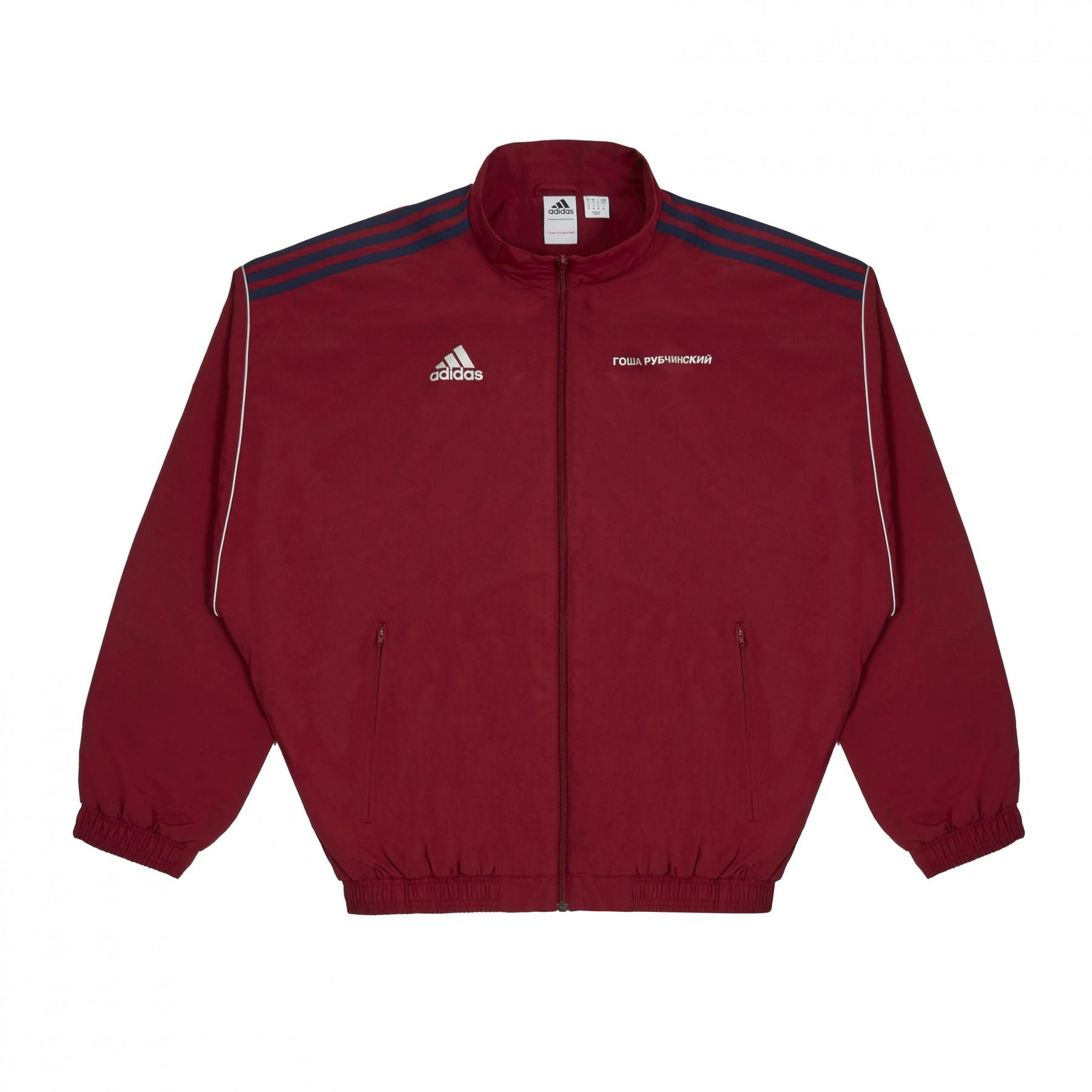 quality design 77621 ad8ad Gosha Rubchinskiy x Adidas Track Top (Burgundy)