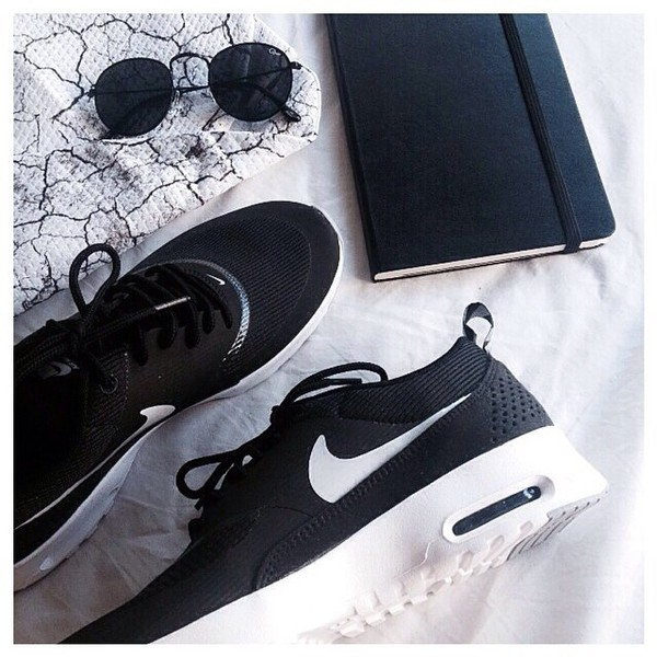 Nike Air Max Thea Black Wolf Grey White
